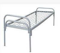 Кровать одноярусная с металлической спинкой 1900*700