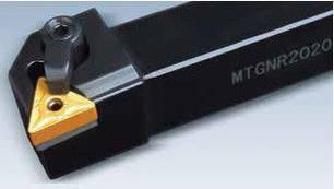 MTGNR2525M16 Резец (державка) токарный проходной, фото 2