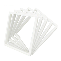 Набор декоративных вставок в рамку Livolo цвет белый (DF10-11)