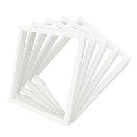 Ободок розетки Livolo 5 шт белый (DF10-11)