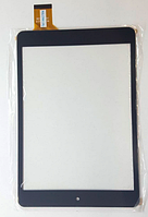 Оригинальный тачскрин / сенсор (сенсорное стекло) Ainol Novo 8 Advanced Mini | Bravis | Mini черный самоклейка