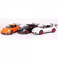 Машина Porsche 911 GT3 RS , масштаб 1:24, машинка на радиоуправлении Rastar, растар порше