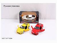 """Модель легковая PLAY SMART 6433 """"Автодром"""" Lexus LFA метал.инерц.отк.дв.3цв.кор.14,5*7*7 ш.к./96"""