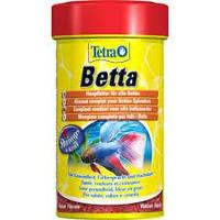 Корм TETRA (Тетра) BETTA для петушков хлопья, 100 мл