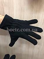 Перчатки флисовые (черные), фото 2