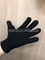 Перчатки флисовые (черные), фото 3