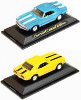 "Модель легковая 4"" 94216 метал. 1:43 CHEVROLET CAMARO Z28 1967 /48/"