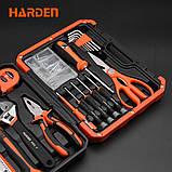 Универсальный домашний набор инструмента 22 пр. Harden Tools 510222, фото 5