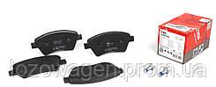 Тормозные колодки (передние) на Renault Kangoo 1998->2008 4x4 TRW GDB1552