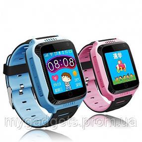 Детские умные смарт часы Q529 с GPS-трекером, фонариком, камерой и игрой, фото 2