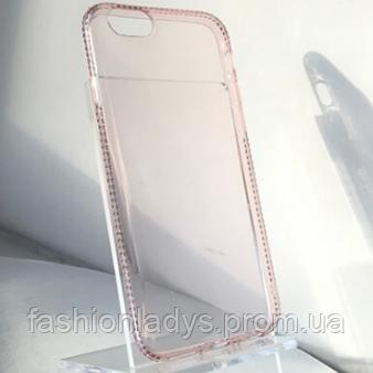 """Ультратонкий TPU Чехол со стразами для Apple iPhone 6/6s (4.7"""")"""