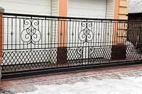Ограждение балкона-5