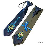 Детский галстук с вышивкой «Малай»