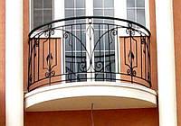 Ограждение балкона ковка -6