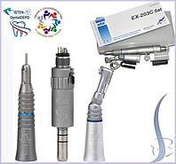 Набор стоматологических наконечников NSK EX-203 M4: угловой, прямой, микромотор, фото 1