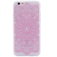 "Чехол матовый soft touch для Apple iPhone 6/6s (4.7"") Узор Розовый, фото 1"