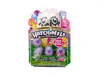 Игрушки герои Hatchimals зверюшки в яйце р-р 5 см, н-р из 4-х яиц, на планш. 17,5*22*4 см