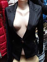 Жакет женский на одну пуговицу