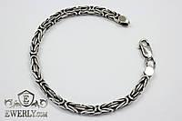 (Византийский / Королевский) серебряный браслет (20 г)