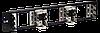 3U рама для 15 плинтов типа Krone, LSA-PLUS, черная