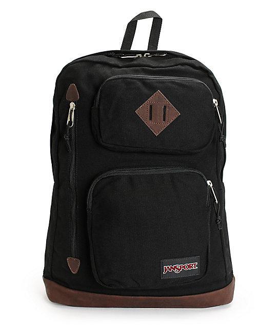 Рюкзак JanSport Houston Laptop Backpack black