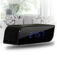 WI-FI скрытая  камера часы настольные с ночной сьемкой