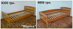 """Кровать """"Марта"""". Массив - сосна, ольха, береза, дуб., фото 3"""