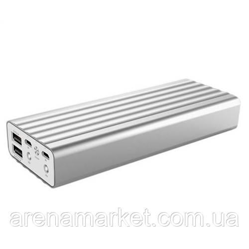 Портативний акумулятор Power Bank Remax Vanguard 20000 маг - сірий
