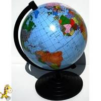 Глобус политический 160 мм украинский