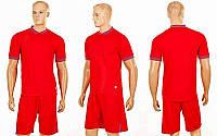 Футбольная форма Neat  (PL, р-р S-2XL, красный, шорты красные), фото 1
