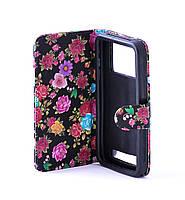 """Чехол книжка HTC Desire 326G 526 универсальная обложка 4,7"""""""