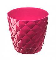 Горшок для цветов на 0,75 л красный Elif plastik 435-2LF