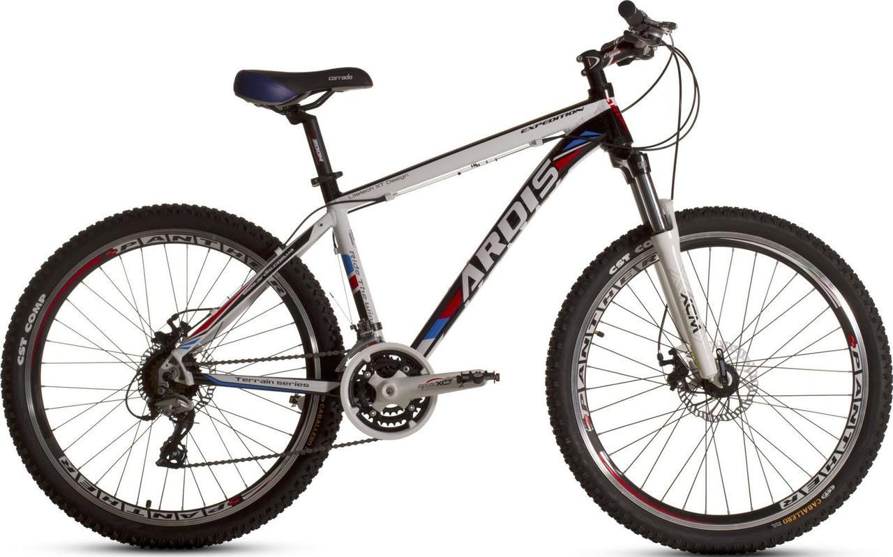 """Горный велосипед ARDIS EXPEDITION MTB 26"""" 19"""" (гидравлика) Белый/Черный"""