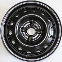 Диск колесный авео (черный) 5,5Jх14 ET45