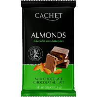 Бельгийский молочный   шоколад Cachet с орехами 300 грамм
