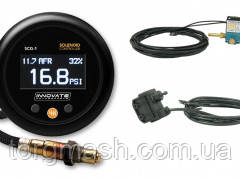 Innovate 3882 Solenoid Boost Controller w/Wideband Gauge Kit Комплект SCG-1: бустконтроллер и ШЛЗ в одном при