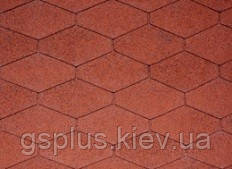 Битумная черепица IKO Monarch-Diamant Tile Red, фото 2