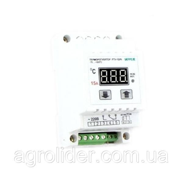 Терморегулятор для крепления на DIN-рейку РТ-16/D