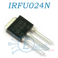 IRFU024N, Mosfet транзистор, 55В 17А, TO251