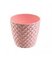 Горщик для квітів на 3 л рожевий Elif plastik 448-3LF