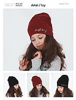 Демисезоннаядетская шапка для девочки Дембохаус р-ры 50