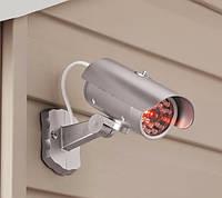 Камера видеонаблюдения Камера муляж, Камера обманка с индикатором (18 светодиодных лампы), фото 1