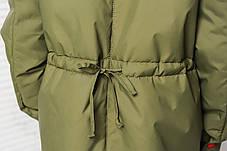 """Демисезонная куртка - парка для девочек """"Попугай"""", фото 3"""