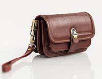 Мужская кожаная сумка-барсетка Qvinto Corridoni QC110С