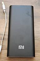 Зовнішній акумулятор портативна зарядка Power Bank Повер Банк XiaoMi 20800mAh металевий. універсальний АКБ, фото 1