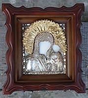 Киот для миниатюрного оклада и залевкашенная доска ., фото 1
