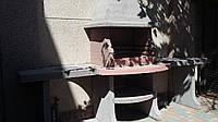 Печь-гриль садовая