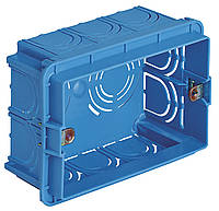 Коробка монтажная 3-модульная
