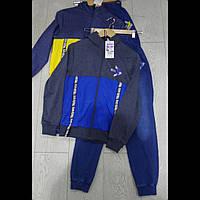 Подростковые  спортивные  костюмы с котоновыми штанами для мальчков оптом GRACE. ВЕНГРИЯ
