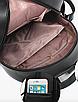 Рюкзак женский блестками Rabbit Черный, фото 3
